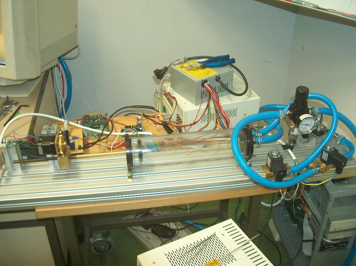 thermodynamics experiment setup